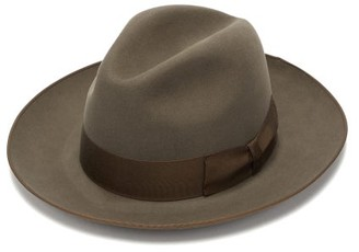 Lock & Co Hatters St. James's Felt Fedora - Mens - Khaki