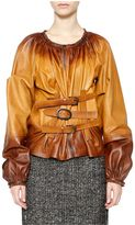 Tom Ford Leather Hip Jacket