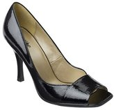 Mossimo® Daryn Square Peep-Toe Pumps - Black