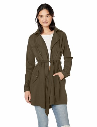 Urban Republic Women's Juniors Cotton Twill Jacket