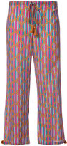 Figue Goa cropped trousers - women - Cotton/Viscose - S