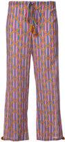 Figue Goa cropped trousers - women - Cotton/Viscose - XS