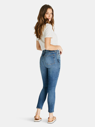 ÉTICA Giselle Mid Rise Skinny - Hot Springs