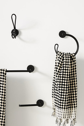 Anthropologie Chambliss Towel Ring By in Black