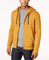 Sean John Men's Full-Zip Drop-Tail Hoodie