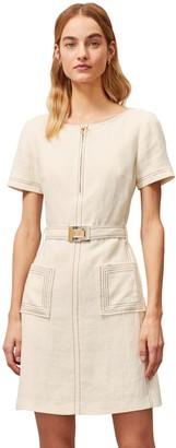 Tory Burch Linen Shift Dress