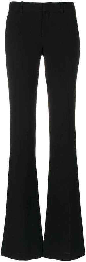 Givenchy slim fit flared trousers