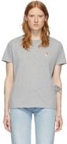 MAISON KITSUNÉ Grey Fox Head T-Shirt