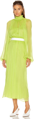 Mara Hoffman Edmonia Dress in Lime | FWRD