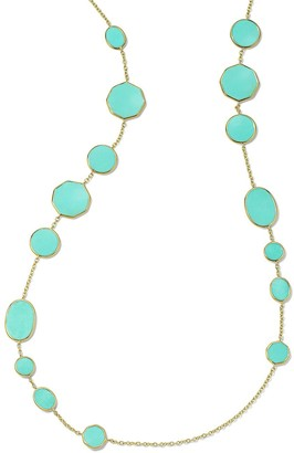 Ippolita 18kt gold Crazy 8's necklace