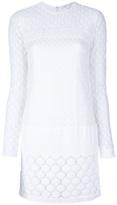 Diane Von Furstenberg long sleeved lace dress