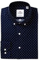 Ben Sherman Dotted Skinny Fit Dress Shirt