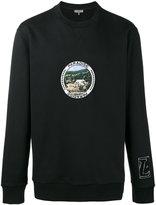 Lanvin 'Paradise' Patch Sweatshirt - men - Cotton/Polyester - XS