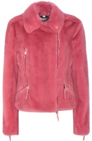 Burberry Alderbury Fur Jacket