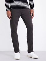 Paige Federal slim-fit tapered cotton jeans