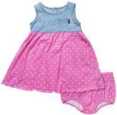 Lee Toddler Girl Heart Denim Dress