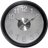 Infinity Instruments The Onyx Wall Clock