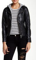 Doma Baby Venice Hooded Genuine Leather Jacket