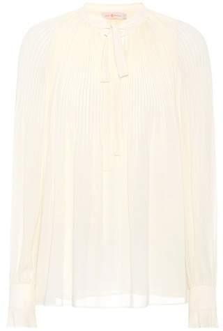 Tory Burch Meryl crêpe blouse
