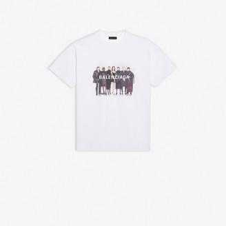 Balenciaga Real Medium Fit T-Shirt