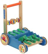 Melissa & Doug Chomp & Clack Alligator Walker Push Toy
