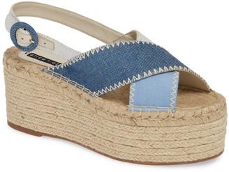 Alice + Olivia Fayen Platform Espadrille Sandal