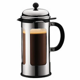 Bodum Chambord Double Wall Glass 8 Cup French Press Coffee Maker with Pour Control