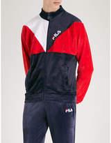 Fila Logo-print velour jacket