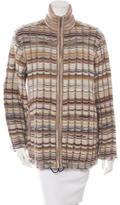 Missoni Reversible Mohair Coat