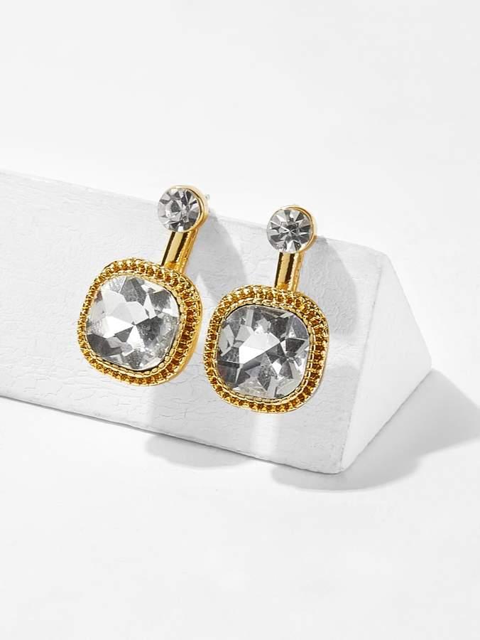 ee374364b8 Rhinestone Stud Earrings - ShopStyle