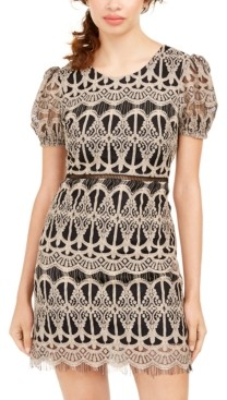 Speechless Juniors' Lace Bodycon Dress