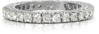 Forzieri 0.98 ctw Diamond 18K White Gold Eternity Band