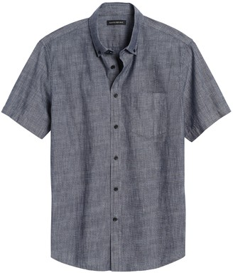 Banana Republic Slim-Fit Chambray Shirt