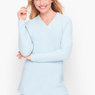 Talbots Shaker Stitch Dolman Sleeve Sweater