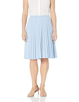 Calvin Klein Women's Petite Lux Pleated Skirt