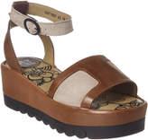 Fly London Bera Leather Platform Sandal