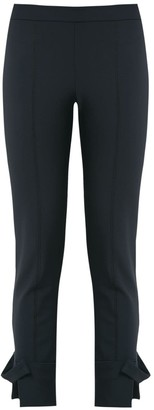 Gloria Coelho Cropped Skinny Trousers