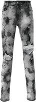 Amiri - distressed skinny jeans - men - Cotton/Spandex/Elastane - 30