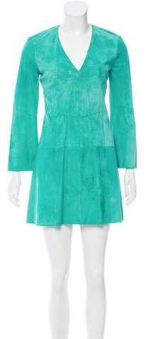 Derek Lam Suede Mini Dress w/ Tags