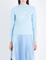 Bella Freud Love For You cashmere jumper