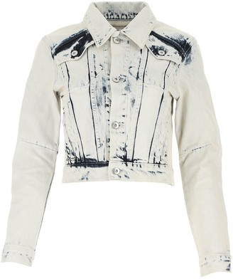 Proenza Schouler White Label Cropped Denim Jacket