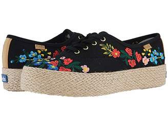 Rifle Paper Co. Keds x Triple Wildwood Embroidery