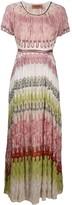 Missoni abstract-pattern maxi dress