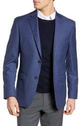 JB Britches Classic Fit Check Sport Coat