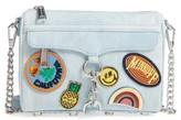 Rebecca Minkoff Mini MAC - Patchwork Denim Crossbody Bag - Blue