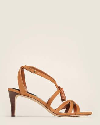 Lauren Ralph Lauren Deep Saddle Gwendolyn Nubuck Sandals