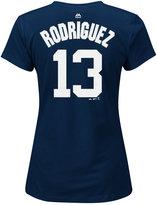 Majestic Women's Alex Rodriguez New York Yankees Player T-Shirt
