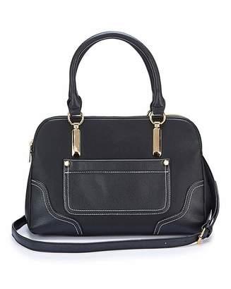 Jd Williams Black Multi Compartment Tote Bag