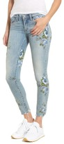 Blank NYC Women's Blanknyc Floral Embroidered Skinny Jeans