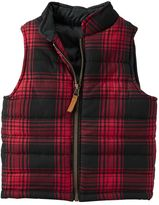 Carter's Boys 4-8 Red Buffalo Plaid Vest